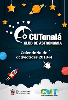 Enlace al calendario de actividades del club de astronomía