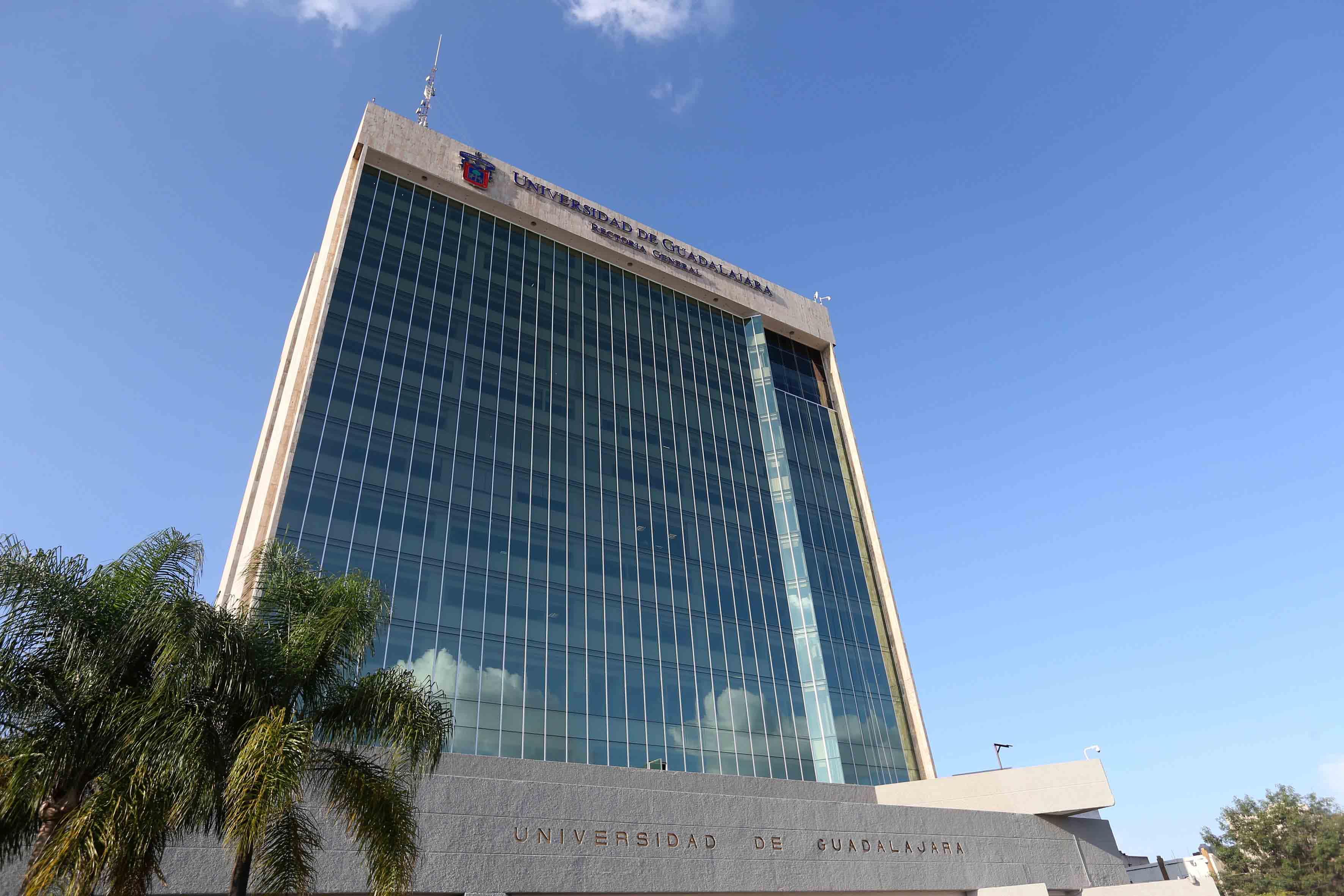 Foto del Edificio de Rectoría General de la Universidad de Guadalajara