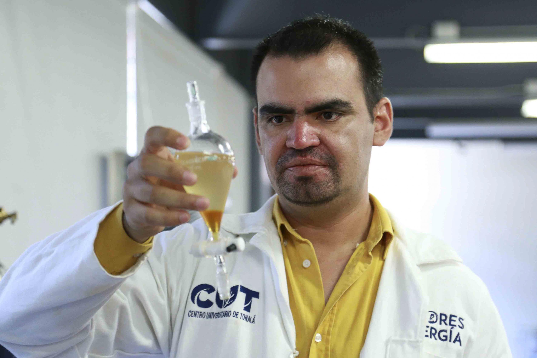 Convierten aceite comestible en biodiésel en CUTonalá