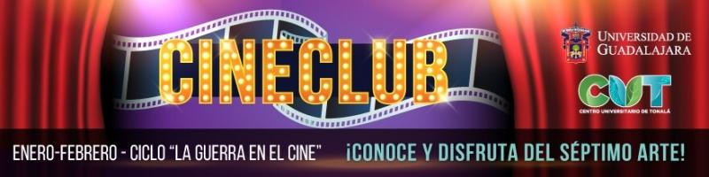 Cine club cartelera enero y febrero