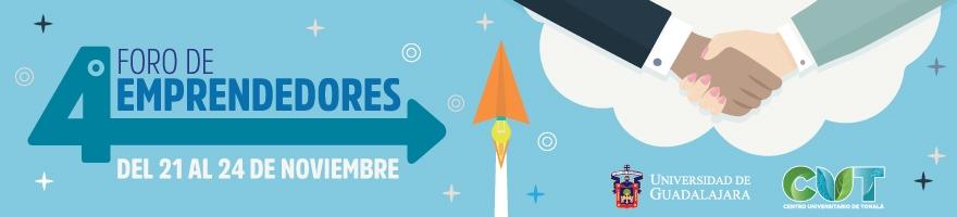 Enlace al programa del Cuarto Foro de Emprendedores