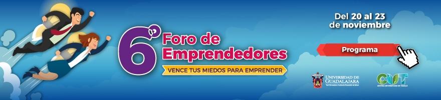 Sexto foro de emprendedores