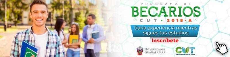 Enlace al micrositio para inscripción al Programa de Becarios CUT 2018 A
