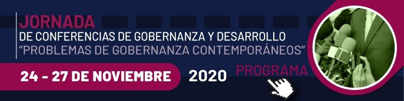 Consulta el programa del Ciclo de conferencias de gobernanza y desarrollo