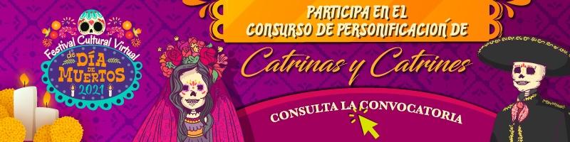 Participa en el Concurso de catrinas y catrines