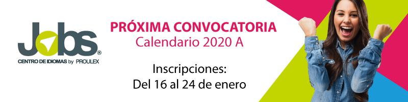 Convocatoria jobs, inscripciones el próximo 16 de enero