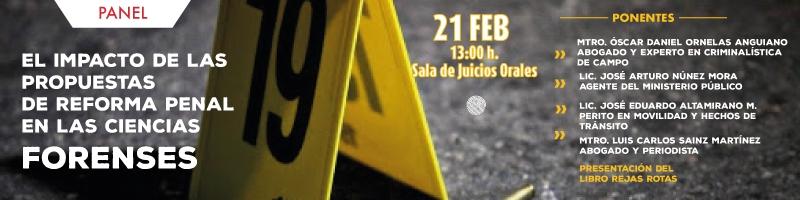 Conferencia el Impacto de las propuestas de reforma penal en las ciencias forenses