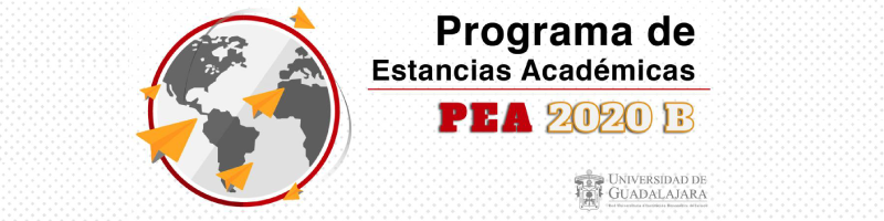 Programa de estancias académicas PEA 2020 B