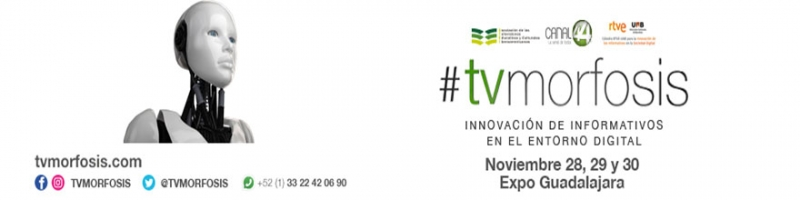 Tvmorfosis en Expo Guadalajara, 28,29y 30 de noviembre, consultar programa