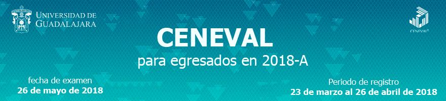 Registro Ceneval 2018A