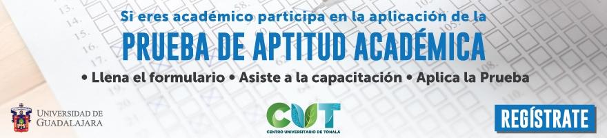 Enlace a registro para participar en la prueba de aptitud académica 2019A