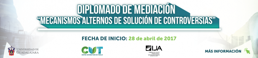 """Inicio del Diplomado de Mediación """"Mecanismos Aleternos de Solución de Controversias"""" 28 de abril de 2017"""