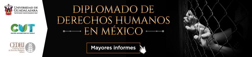 Diplomado en Derechos Humanos en México inicio en octubre