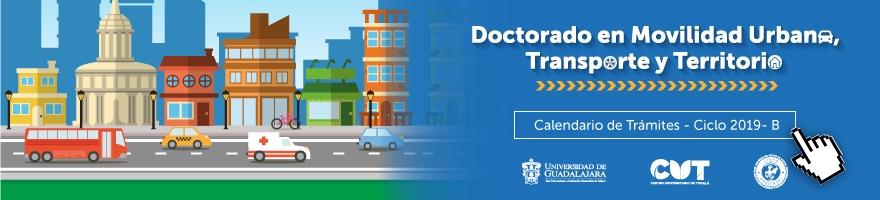 Doctorado en movilidad urbana, transporte y territorio