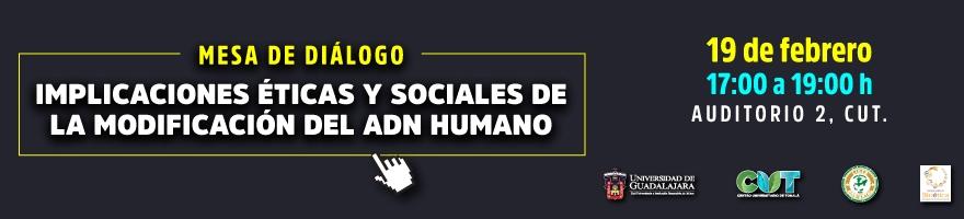 Mesa de Diálogo: Implicaciones Éticas y Sociales de la Modificación del ADN Humano