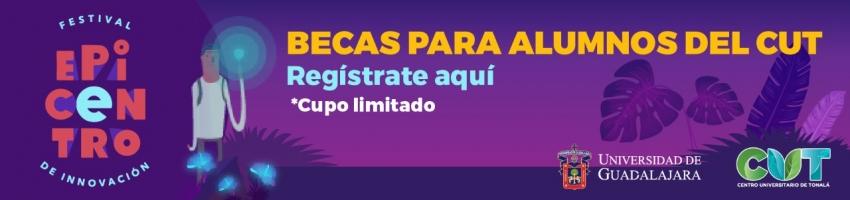 Enlace al formulario para obtener tu beca para el Festival de Innovación Epicentro