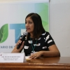 Foto de la Dra. Belkis Sulbarán Rangel, organizadora del Seminario del DAAD