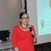 Inicio del Club de Astronomía, en foto la Dra. Rosa Martha Torres